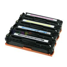 Compatible Set of 4 CE320A 128A For HP Color LaserJet Pro CM1415FNW CP1525NW