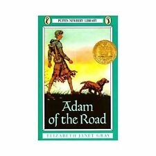 Newbery Library, Puffin: Adam of the Road by Elizabeth Janet Gray (1987,...