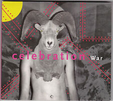 Celebration - War - CD (2 x Track Digipack Single 4AD bad 2605)