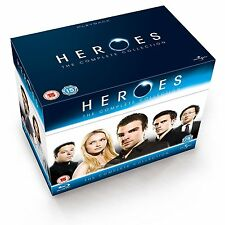 Heroes - The Complete Series (Blu-ray) Seasons 1 2 3 4 BRAND NEW
