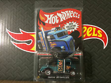 Hot Wheels 2016 CUSTOM 38 FORD COE KMART Exclusive Mail In Real Riders Redlines