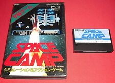 MSX Space Camp [JAP] RARE Jeu Sony Canon NO Super Nintendo  *JRF*