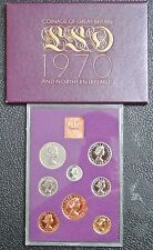 1970 COINAGE OF GREAT BRITIAN AND NORTHERN IRELAND - 8 Coins - PROOF SET