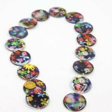 1string 111512 Wholesale Charms Flower Oblate Disc Shell Beads Free P&P 25mm