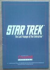 Star Trek The Lost Voyage of the Enterprise programme Bromley Churchill Theatre