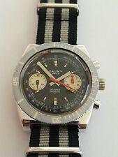 CHRONOGRAPHE CAUNY * DIVER * VALJOUX 7733 * 38mm * PERFECT  WORKING * TOP!!