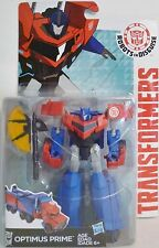 "OPTIMUS PRIME Transformers Robots in Disguise 5"" Deluxe Class Figure Wave 2 2015"