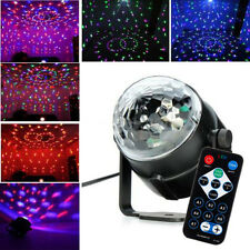LED RGB DJ Disco Magic Ball Crystal Xmas Party Stage Lighting w/ Remote Control