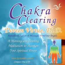 NEW Chakra Clearing by Doreen Virtue AUDIO-BOOK (CD-Audio) Free P&H