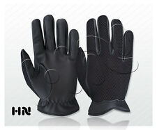 MENS MESH NET DRIVING GLOVES SOFT THIN LAMBSKIN LEATHER CHAUFFEUR FASHION RETRO