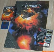 ~ ZIRIAX ~ Commodore Amiga / Originalkarton ~ original boxed ~ POSTER ~ english