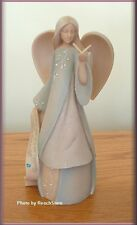 DECEMBER MONTHLY BIRTHDAY ANGEL BY ENESCO FOUNDATIONS 7.5 INCHES FREE SHIPPING