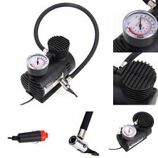 New 300 PSI 12V Car Auto Portable Pump Tire Inflator Mini Air Compressor W Gauge