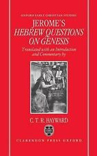 Saint Jerome's Hebrew Questions on Genesis (Oxford Early Christian Studies)