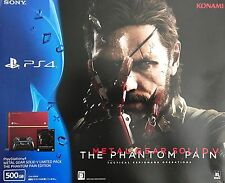 Sony PlayStation 4 Metal Gear Solid V Limited Pack The Phantom Pain + BONUS