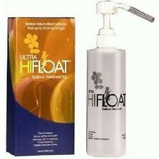 Ultra  Hi-Float Treatment Kit & Pump for 100 helium latex balloons Party
