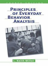 NEW - Free Ship - Principles of Everyday Behavior Analysis by Miller (4E + CODE)