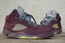 2009 Nike Air Jordan Retro 5 V Fear OG BURGUNDY 5 size 8.5 with box
