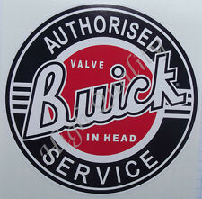 BUICK AUTHORISED SERVICE DECAL STICKER.   Y035