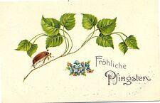 Pfingsten, Maikäfer, Blätter, Blumen, um 1920/30