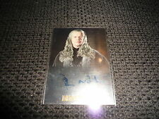 LORD OF THE RINGS Trilogy Chrome Autograph Card Autogramm signed JOHN NOBLE