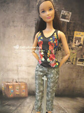 Doll Clothes ~ Mattel Barbie Style Casual wear Camouflage Outfit 1set#B
