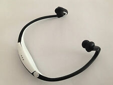Bluetooth Headphones jogging running sport for IPOD & IPHONE 5 & 6 Samsung white