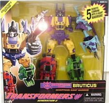 Transformers Amazon Exclusive G2 Classic Fall of Cybertron Bruticus On Hand 2012