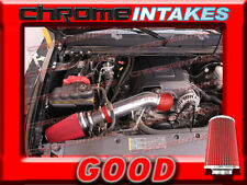 RED 07 08 / 2007 2008 CHEVY SILVERADO/TAHOE/GMC SIERRA/YUKON COLD AIR INTAKE KIT