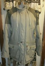 London Fog Men's Coat Parka Jacket Water Repellent Size Large