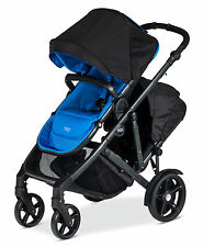 Britax 2017 B-Ready Double Stroller in Capri Brand New!! With Second Seat!!