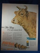 Vintage Magazine Ad Print Design Advertising Baby Ruth Candy Bars
