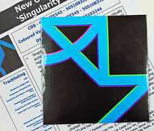 NEW ORDER CD Singularity 6 REMIXES 2015 UK single + A4 PROMO Info Sheet NEW