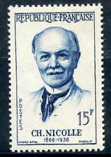 STAMP / TIMBRE FRANCE NEUF N° 1144 ** CHARLES NICOLLE