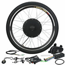 """36V 500W Electric Bicycle Motor Conversion hub Kit 26"""" Ebike Cycling Front Wheel"""