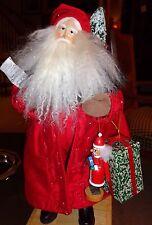 "Lynn Haney Santa Nutcracker Holiday 2001 Musical Music Box ""A Merry Little Xmas"