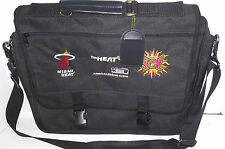 MIAMI HEAT MIAMI SOL WNBA Note Book Brief Case Lap Top Computer Bag Black Canvas