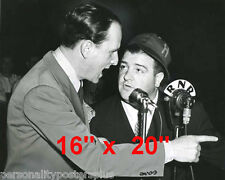 """Abbott & Costello~Who's on First~Baseball~Poster~Radio~Comedy Team~16""""x20"""" Photo"""