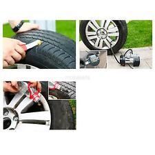 New Motorcycle/Car Tubeless Tyre Puncture Repair Kit Tool Tire Plug