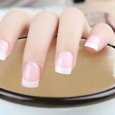 New 100 Pcs French False  White Decoration Manicure UV Gel  Acrylic Nail Art Tip