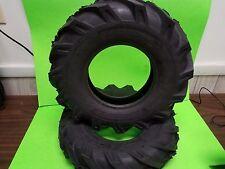 (2) Troy Bilt Horse Garden Tiller Tires 4.8x4x8 4.8x4-8 4.80-4.00-8 M