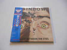 "Rainbow ""Right between the eyes"" Rare japan cd Paper Sleeve"