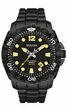 Bulova Men's 98B242 Sea King UHF Black Stainless Steel Dive Watch