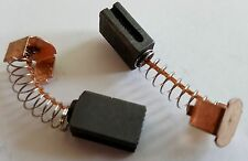 Pair of Grooved Groove Slot Motor Carbon Brushes 5x8x12mm 5mm x 8mm x 12mm
