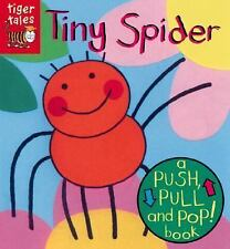 Tiny Spider (Push, Pull, and Pop! Board Books)