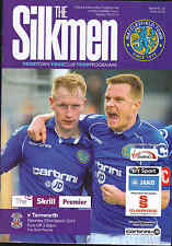 2013/14 MACCLESFIELD TOWN V TAMWORTH 22-03-2014 Skrill Premier (Mint)