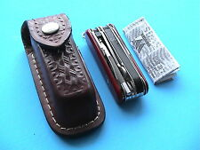 RARE OFFERING! WENGER BERGEON MINATHOR WATCHMAKER'S KNIFE w/LEATHER POUCH, NEW!