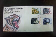 Malaysia 1999 Protected Mammals in Malaysia stamp FDC