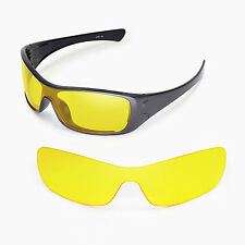 New Walleva Yellow Replacement Lenses For Oakley Antix Sunglasses