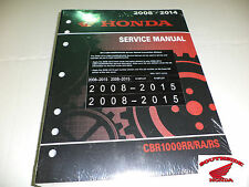 GENUINE HONDA SERVICE SHOP MANUAL CBR1000RR RA RS 2008-2016